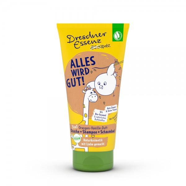 "Dreckspatz Douche & Shampooing ""tout ira bien!"" bio tube 200 ml"