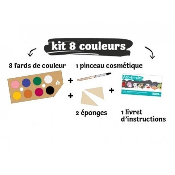 Maquillage - 8 couleurs - Namaki