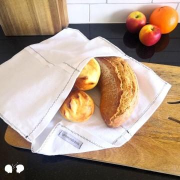 PATTIER | Sac à pains en tissu upcyclé 100% coton