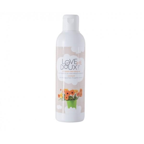 Liniment  au macérât de Calendula biologique - Love me doux - flacon PE- 250ml