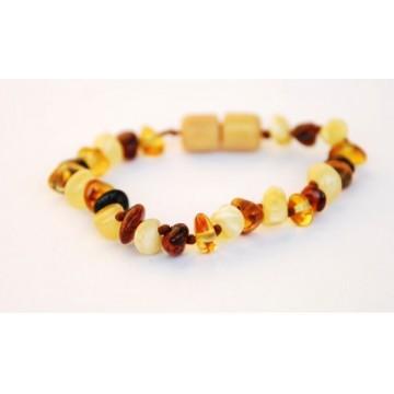 Bracelet d'ambre - mat