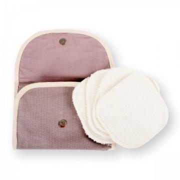 Kit Eco Belle Nomade (4 carrés démaquillants pour vos déplacements)